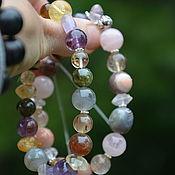 Фен-шуй и эзотерика handmade. Livemaster - original item A pair of bracelets-Ji bracelets talismans-individual selection. Handmade.