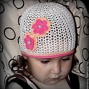 """Работы для детей, ручной работы. Ярмарка Мастеров - ручная работа Летняя вязаная шапочка """"Лето"""". Handmade."""