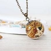 Украшения handmade. Livemaster - original item Transparent pendant the seabed. Handmade.