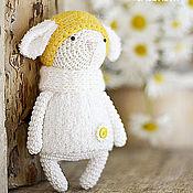 Куклы и игрушки ручной работы. Ярмарка Мастеров - ручная работа овечка РОМАШКА. Handmade.