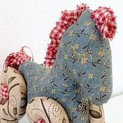 Куклы и игрушки ручной работы. Ярмарка Мастеров - ручная работа текстильная лошадка-качалка  Сонная Лошадка. Handmade.