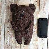 Мягкие игрушки ручной работы. Ярмарка Мастеров - ручная работа Симпатяга Медвежонок. Handmade.