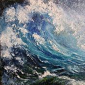 """Картины и панно ручной работы. Ярмарка Мастеров - ручная работа Картина. Пейзаж """"Волна"""". Handmade."""
