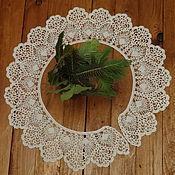 Аксессуары handmade. Livemaster - original item Lace collar crochet No. №49. Handmade.