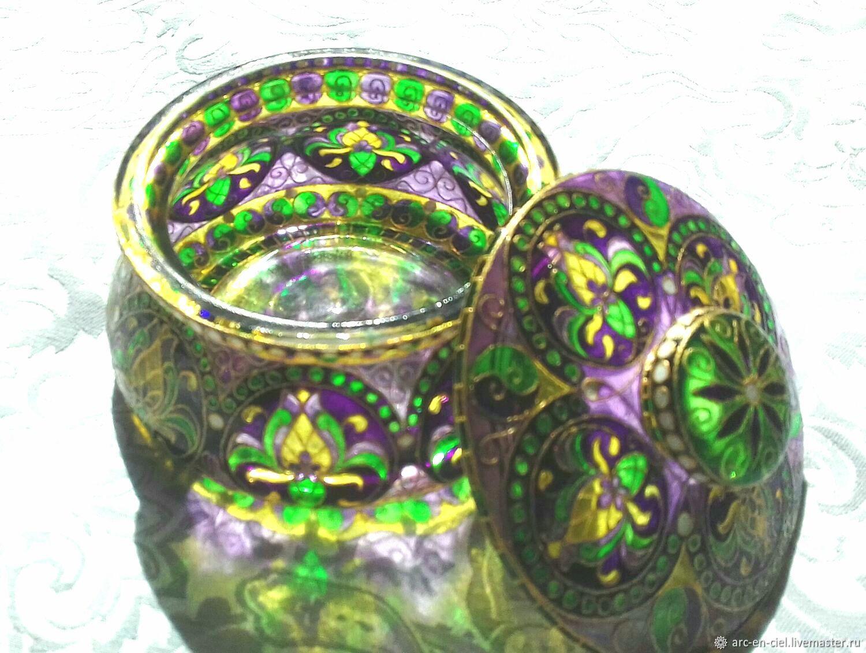 Sugar bowl 'Spring mood', Sugar Bowls, Omsk,  Фото №1