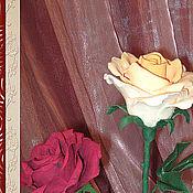 Цветы и флористика ручной работы. Ярмарка Мастеров - ручная работа Роза  1 штука (цвет в ассортименте). Handmade.