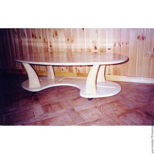 Мебель ручной работы. Ярмарка Мастеров - ручная работа. Купить столик. Handmade. Желтый, стол, дерево, Мебель, эко, дерево