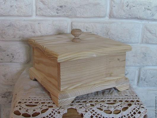 """Шкатулки ручной работы. Ярмарка Мастеров - ручная работа. Купить Шкатулка деревянная """"Ретро"""". Handmade. Бежевый, короб для кухни, прованс"""