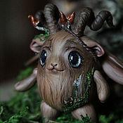 Шарнирная кукла ручной работы. Ярмарка Мастеров - ручная работа Таис. Лесной дух. Шарнирная кукла бжд мутантик. Рекси (BJD). Handmade.