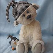 Куклы и игрушки ручной работы. Ярмарка Мастеров - ручная работа Мишка на севере. Handmade.
