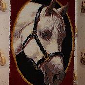 Картины и панно ручной работы. Ярмарка Мастеров - ручная работа Портрет арабской лошади. Handmade.
