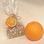 Косметика ручной работы. Ярмарка Мастеров - ручная работа Апельсиновое мыло. Handmade.