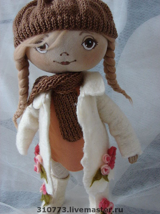 """Человечки ручной работы. Ярмарка Мастеров - ручная работа. Купить Коллекционная кукла ручной работы """"Ася"""". Handmade. Коллекционная кукла"""