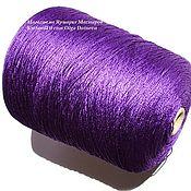 Материалы для творчества handmade. Livemaster - original item Yarn: Silk. Silk Of Japan. The color purple.. Handmade.
