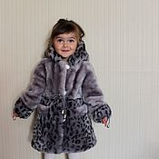 Работы для детей, handmade. Livemaster - original item Children`s coat for little girl. Handmade.