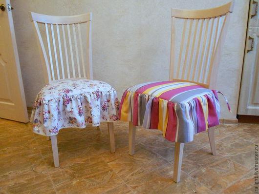 Текстиль, ковры ручной работы. Ярмарка Мастеров - ручная работа. Купить Чехол на стул Кантри. Handmade. Чехол, стулья, хлопок