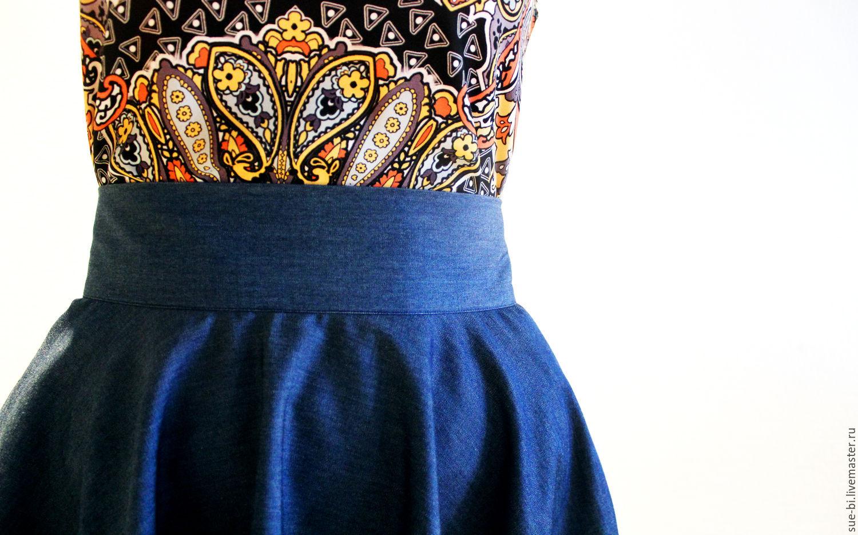 771dba4d6bc ... джинсовая юбка солнце купить джинса юбка солнце хлопок юбка солнце  летняя пышная юбка синяя юбка солнце ...