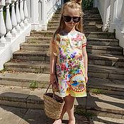 Работы для детей, ручной работы. Ярмарка Мастеров - ручная работа Платье Италия. Handmade.