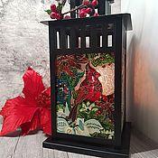 Для дома и интерьера handmade. Livemaster - original item Lantern-candlestick