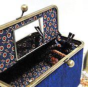 Подарки к праздникам ручной работы. Ярмарка Мастеров - ручная работа Косметичка шкатулка украшений с зеркалом Персональный подарок женщине. Handmade.