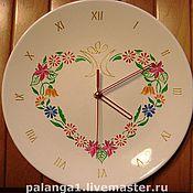 Для дома и интерьера ручной работы. Ярмарка Мастеров - ручная работа Настенные часы «ЛЕТНИЙ СОНЕТ». Handmade.