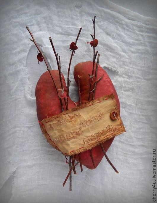 """Прихожая ручной работы. Ярмарка Мастеров - ручная работа. Купить Сердечко """"В этом доме живет любовь"""". Handmade. уют"""