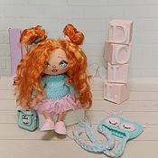 Куклы и пупсы ручной работы. Ярмарка Мастеров - ручная работа Текстильная игровая куколка. Handmade.