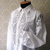 """Одежда ручной работы. Ярмарка Мастеров - ручная работа Блузка """"Елена"""". Handmade."""