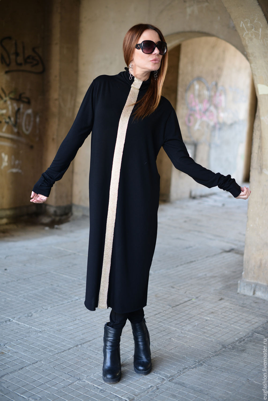 Casual women suit. Fashion suit, buy. Tunic dress. Leggings elastic. leggings. Tunic. Tunic long sleeve. Loose cut. costume cotton. Black suit.