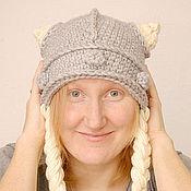 Аксессуары ручной работы. Ярмарка Мастеров - ручная работа шапка викинг блонд. Handmade.