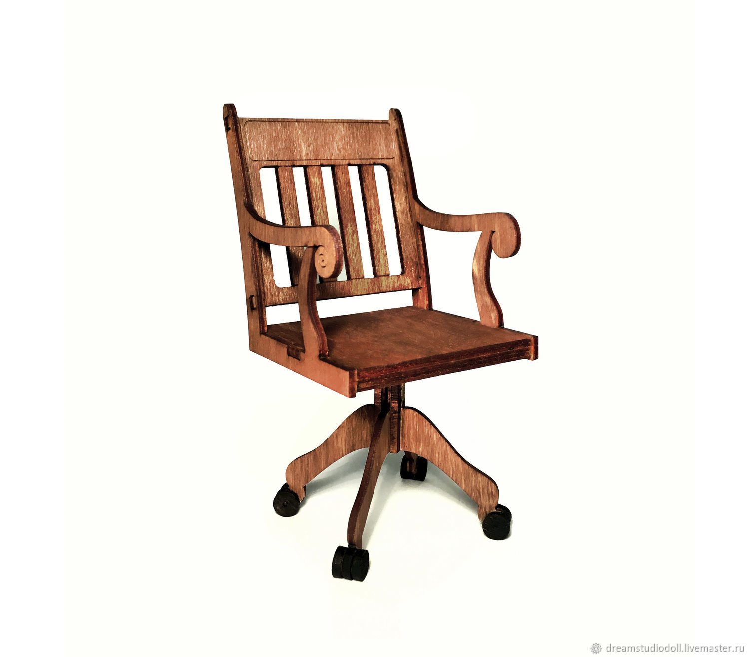 Working chair for dolls 1:6 (YoSD), Doll furniture, St. Petersburg,  Фото №1