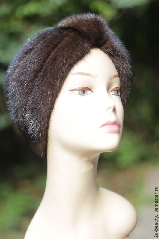 Повязки ручной работы. Ярмарка Мастеров - ручная работа. Купить Повязка на голову. Большие размеры. Меховая шапка для осени.. Handmade.
