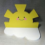 Для дома и интерьера handmade. Livemaster - original item Shelf Sun. Handmade.