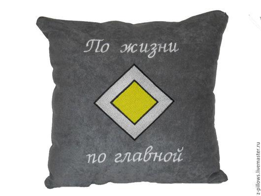 Изготовлю автомобильные подушки с любой тематикой (логотипами авто и компаний, забавными надписями и картинками, спортивной и интернет тематикой).