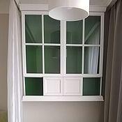Для дома и интерьера handmade. Livemaster - original item The hinged wardrobe with glass doors. Handmade.