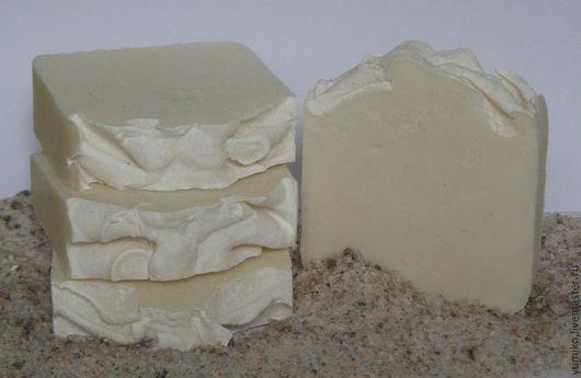 Мыло ручной работы. Ярмарка Мастеров - ручная работа. Купить Натуральное соляное мыло. Handmade. Белый, натуральное мыло