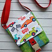 handmade. Livemaster - original item Bag for boy