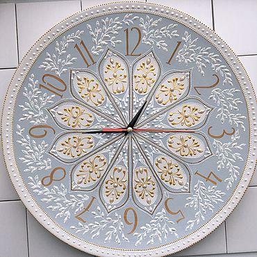 Для дома и интерьера ручной работы. Ярмарка Мастеров - ручная работа Часы настенные 37 см.. Handmade.