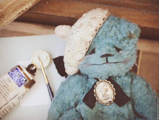 Мишки Тедди ручной работы. Ярмарка Мастеров - ручная работа. Купить Эмиль. авторский мишка тедди ручной работы. Handmade.