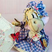 Куклы и игрушки ручной работы. Ярмарка Мастеров - ручная работа Коллекционная кукла Обезьянка Анфисушка. Handmade.