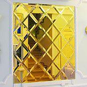 Для дома и интерьера ручной работы. Ярмарка Мастеров - ручная работа Золотые зеркала.. Handmade.