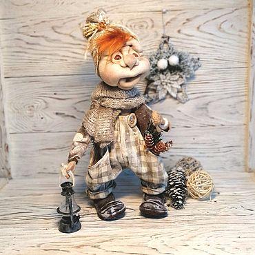 Dolls & toys handmade. Livemaster - original item Doll interior, textile, collection