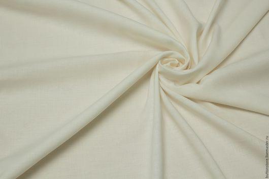Шитье ручной работы. Ярмарка Мастеров - ручная работа. Купить Итальянский костюмный  Лен Молочный. Handmade. Итальянские ткани