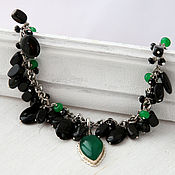 Украшения handmade. Livemaster - original item Necklace and ring