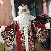 Одежда ручной работы. Ярмарка Мастеров - ручная работа Костюм Деда Мороза Боярский. Handmade.