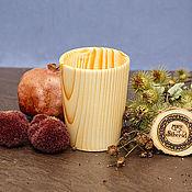 Посуда handmade. Livemaster - original item Wooden Glass 100%#20. Handmade.
