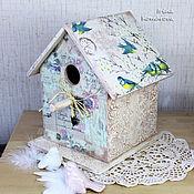 Для дома и интерьера handmade. Livemaster - original item birdhouse-box. Handmade.