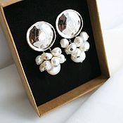 Украшения handmade. Livemaster - original item Pearl earrings. Handmade.