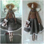 Куклы и игрушки ручной работы. Ярмарка Мастеров - ручная работа Кофейная фея Нора. Handmade.