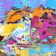 """Пейзаж ручной работы. """"Новый Свет. Крым"""" - картина маслом (море). ЯРКИЕ КАРТИНЫ Наталии Ширяевой. Ярмарка Мастеров. Зеленый"""